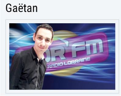 Longuet Gaetan de LORFM